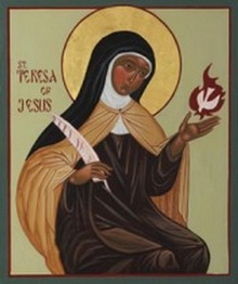Teresa Icon Enlarged