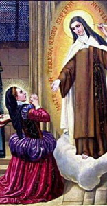 Barbe's vision of Teresa