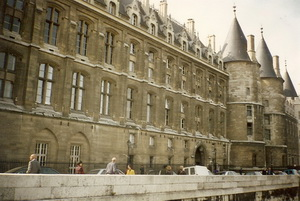 The Conciergerie Prison in Paris