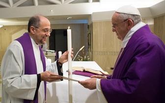 Fr SC & Pope F